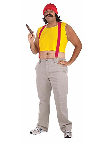 [Forum Cheech & Chong Cheech Costume Standard (STD)] (Cheech And Chong Girl Costumes)