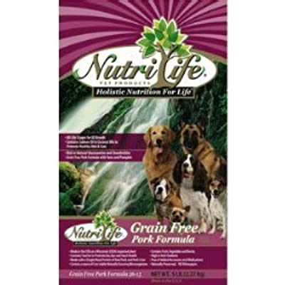 Nutri Life Grain Free Pork Dog Food - 30lb