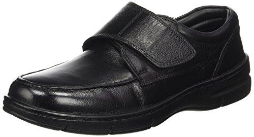 Casa Nova Gallium - Zapatos de vestir Hombre Noir (Noir)