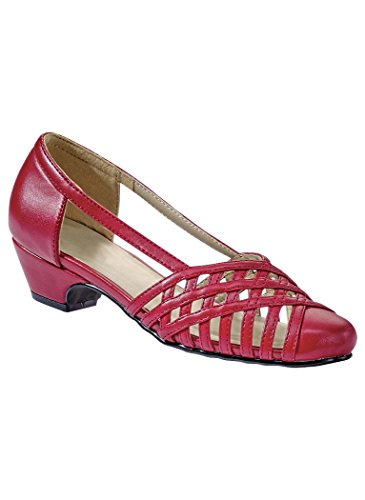Amerimark Womens Adult Colleen From Angel Steps 9 Wide Us Women / Red Red