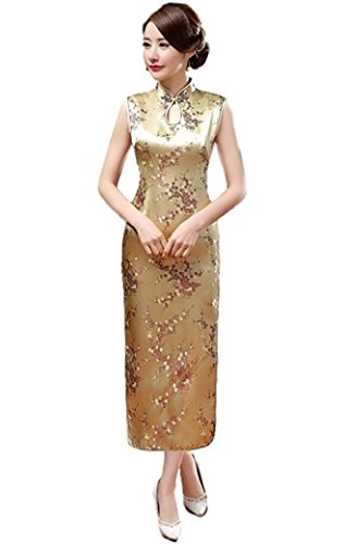 Used, Maritchi Women's Long Chinese Wedding Dress Cheongsam for sale  Delivered anywhere in USA