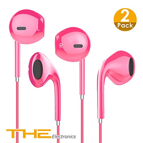 Stereo Earphone for iPhone 5 (Pink) - 1