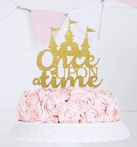 Once Upon a Time Cake Topper, Fairy Tale Wedding Theme, First Birthday Party, Princess Castle Cake Topper, Cake Topper Wedding, Table Décor Table Décor