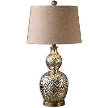 Uttermost 26675 Diondra One Light Table Lamp Set Of 2