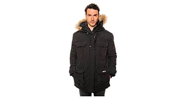 Canadian Peak Ascoli - Parka de color negro: Amazon.es: Ropa y accesorios