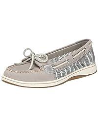 Sperry Top-Sider Women's Angelfish Breton Stripe Mesh Boat Shoe