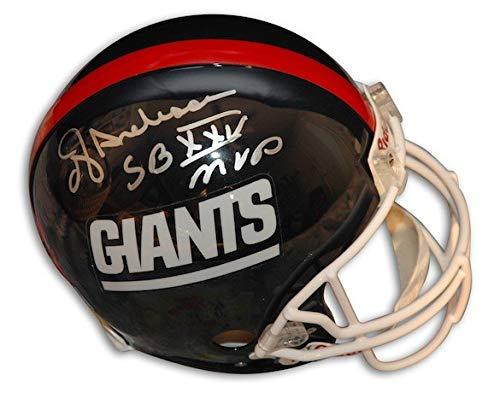 (Autographed Ottis OJ Anderson Giants Riddell Proline Helmet inscribed SB XXV MVP - Certified Authentic Signature)