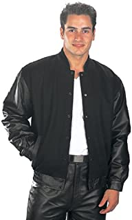 Amazon.com: USA Leather Mens Airforce Black Leather Jacket: Sports
