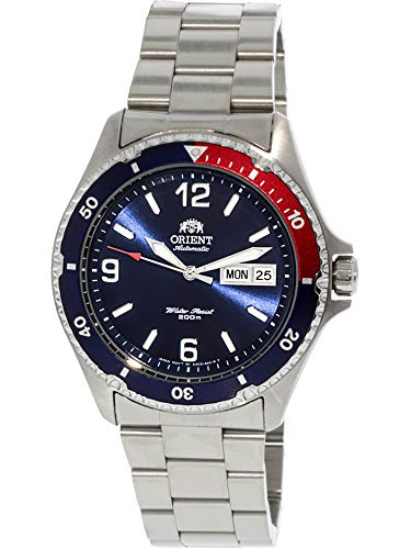 Orient Mako II Watch FAA02009D9 - Stainless Steel Unisex Automatic Analogue