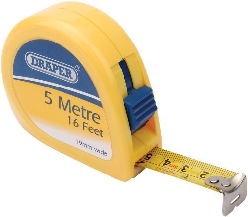 Draper Measuring Tape (Draper DIY Series 09227 5 m Metric and Imperial Measuring Tape by Draper)