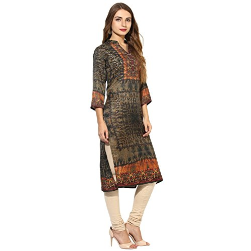 Lagi Kurtis Ethnic Women Kurta Kurti Tunic Digital Print Top Dress Casual Wear New Launch by by Lagi (Image #3)