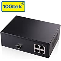 5-Port Unmanaged Gigabit Ethernet Switch ( 1x SFP Slot + 4x RJ45 Ports )
