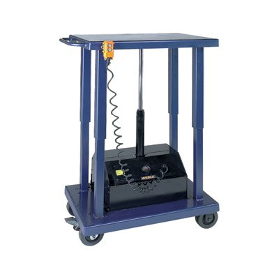 Wesco-Industrial-Products-261107-Powered-Lift-Table-6000-Pound-Capacity-48-Length-x-32-Width-Tabletop-59-Height