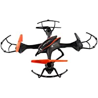 Large-Size Four-Axis 4CH RC Drone Quadcopter - Black