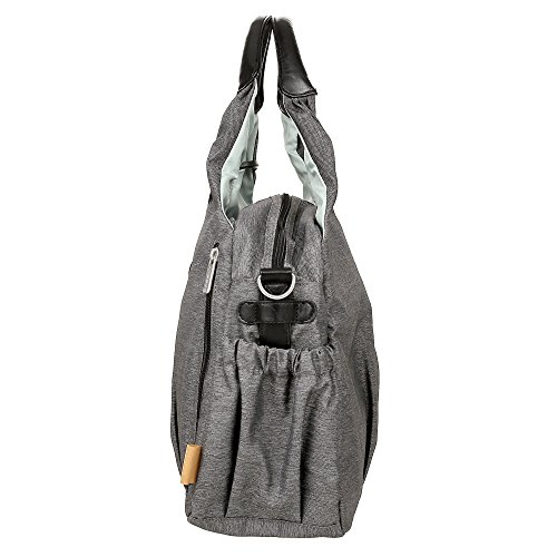 Lässig LGB691 Green Label Global - Bolsa (ecoya), color gris