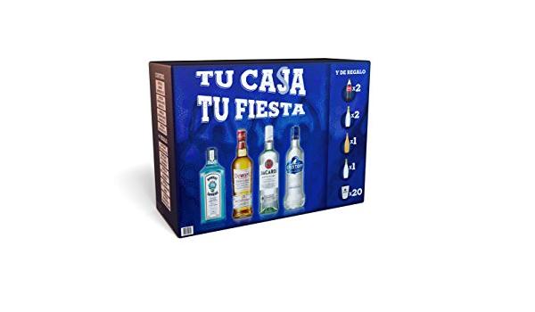 Bombay Kit Fiesta Dewars Eristoff - 1 Pack: Amazon.es ...