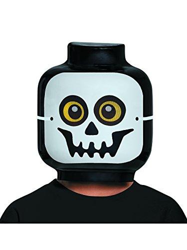 Disguise Lego Skeleton Mask, One Size -