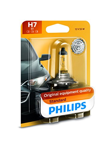 - Philips 12972B1 Standard Halogen Headlight Bulb, 1 Pack