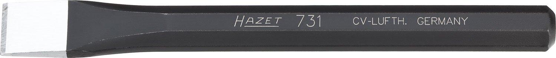 Lunghezza 125 mm Hazet 731-2 Scalpello A Tagliente Diritto Multicolore