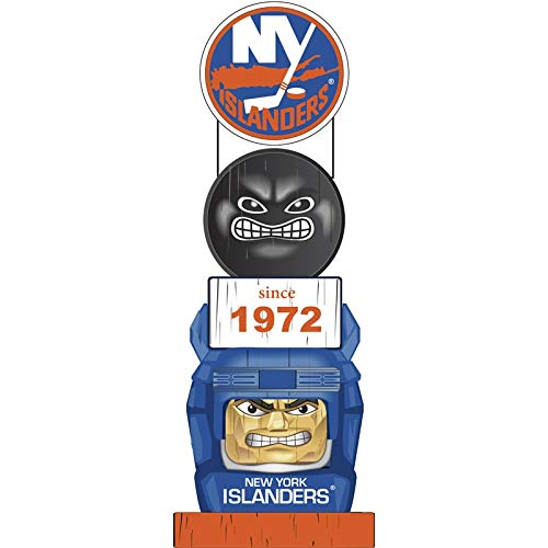 Team Sports America New York Islanders Vintage NHL Tiki Totem Statue ()