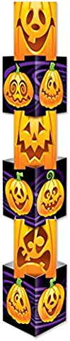 Beistle Company 01274 Jack-O-Lantern Column - Pack of 6
