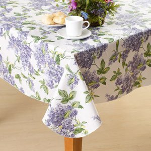 Lilac Collection Tablecloth 52