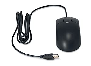 HP Optical 3 Button Mouse,usb,accessory