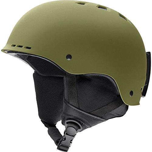 Smith Optics Adult Holt Ski Snowmobile Helmet - Matte Olive / Large