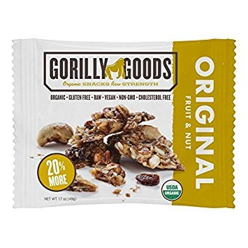 GORILLY GOODS, Organic Fruit & Nuts; Original - Pack of 12 by Gorilly Goods (Image #1)