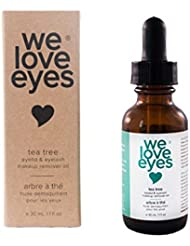 All Natural Tea Tree Eye Makeup Remover Oil - We Love...