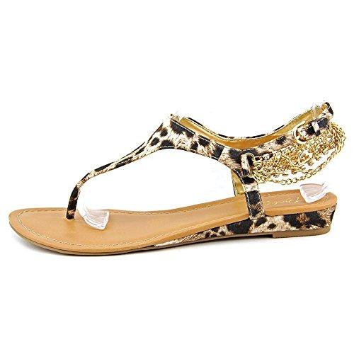 Thalia Lizette - Sandalias de vestir de Lona para mujer multicolor leopardo leopardo