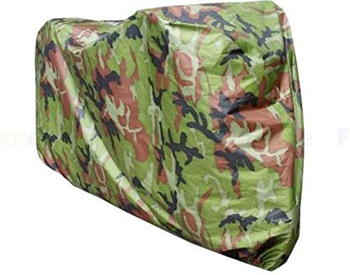 Oyfel Waterproof Bicycle Cover Motor Bike Cover for 1 Bike Outdoor Indoor Storage Bike Dust Rain Cover Camouflage Patterns 180 60 90cm