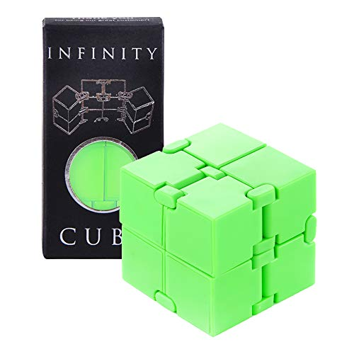 Infinity Fidget Cube Mind Puzzle Toy for Kids and Adults, Sensory Stress and Anxiety Relief Brain Teasers for Hand and…