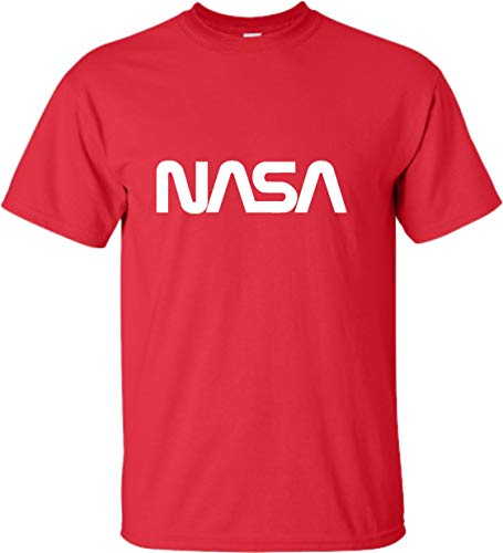 Go All Out Adult NASA Worm Logo T-Shirt