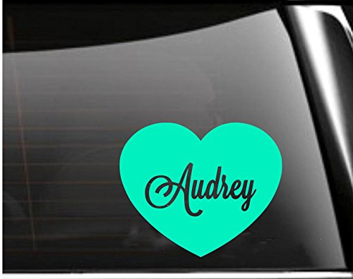 Personalized Heart Car Decal  Tumbler Decal