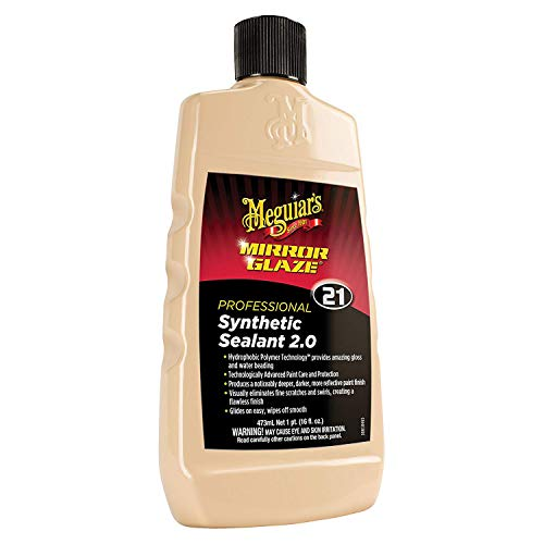 Meguiar's M2116 Mirror Glaze Synthetic Sealant 2.0, 16 Fluid Ounces, 1 Pack