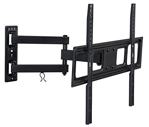 Mount-It! Articulating TV Wall Mount Arm, Fits 37-70 Inch TVs, Up to VESA 400x400 and 600x400, 17 Extension from Wall, 77 Lbs Capacity (Inch Wall Mount Tv 59)