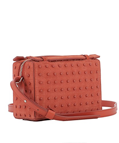 Tod's Borsa A Spalla Donna XBWD0NH0000FRIG837 Pelle Rosso