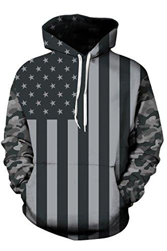 KAKALOT Fashion Digital Pullover Sweatshirt