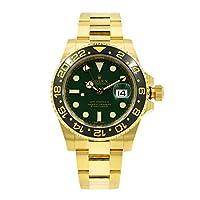 Rolex GMT Master II 'Anniversary Green' Yellow Gold Automatic Watch 116718LN