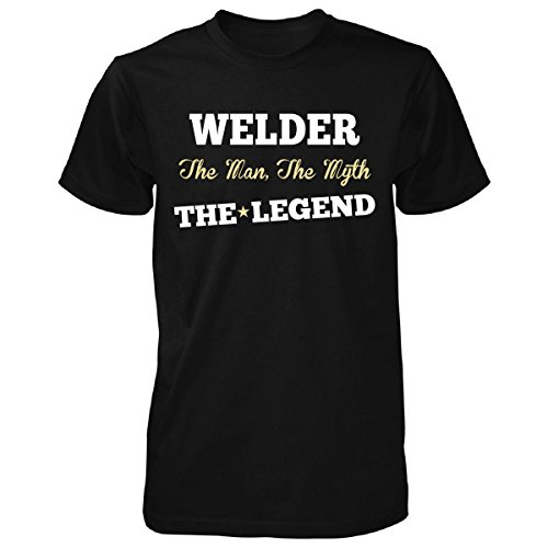 Welder The Man, The Myth The Legend Funny Gift - Unisex Tshirt