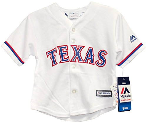 Majestic Athletic Texas Rangers Home Cool Base Infant Jerseys (18 Months)