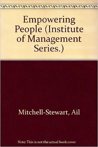 Book Empowering People (Institute of Management)