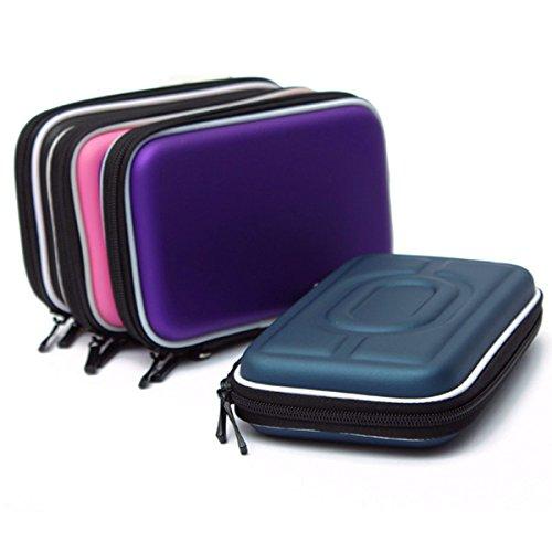 Bolsa de disco duro - TOOGOO(R)2.5  Caja externa de la bolsa PC portatil USB de almacenamiento de soporte para Disco Duro empaqueta la cartera