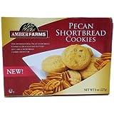 Amber Farms Pecan Shortbread Cookies 8.oz (3 Boxes)