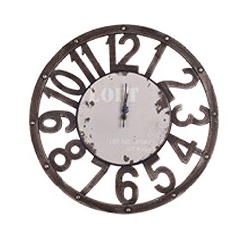 - Phoenix Wonder Personality Retro Wall Clock Adornment Bracket Clock Silent Bell Wall Decor K