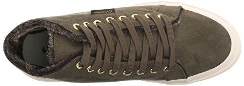 Superga Womens 2795 Shearling Mode Sneaker Militär