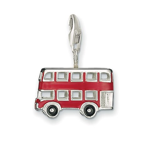 Thomas Sabo London double Decker Bus Charm, Argent sterling