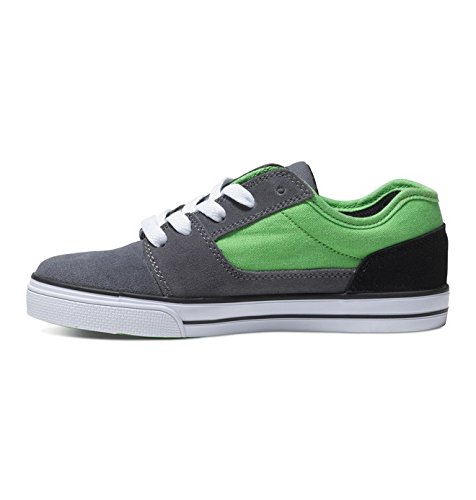 ZAPATILLAS DC SHOES NIÑO TONIK GRIS/VERDE