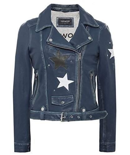 Oakwood Femmes cuir veste star courtney Denim Jean